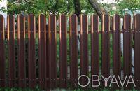 Производство металлических заборных планок для набора на секцию по размерам зака. Киев, Киевская область. фото 11