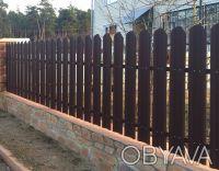 Производство металлических заборных планок для набора на секцию по размерам зака. Киев, Киевская область. фото 10
