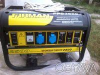 Продам бензиновый электрогенератор FIRMAN 3800. Фастов. фото 1