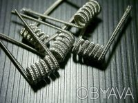 Staggered Clapton Coil. Киев. фото 1