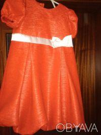 Праздничное платье, подойдет к любому торжестве, на подкладке. Декорировано бело. Кривий Ріг, Дніпропетровська область. фото 5