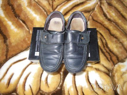 Продам кожаные туфли 30р.стелька 19,5 см. Киев, Киевская область. фото 1
