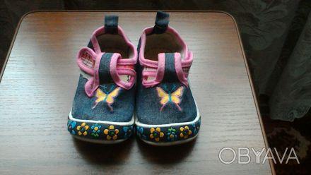 Кеды для девочки в нормальном состоянии,стелька 12,5 см. Киев, Киевская область. фото 1