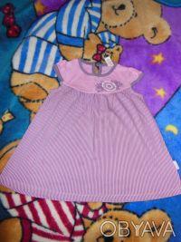Платья в нормальном состоянии,есть небольшие следы носки.Размер 80-86. Киев, Киевская область. фото 2