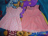 Платья в нормальном состоянии,есть небольшие следы носки.Размер 80-86. Киев, Киевская область. фото 5