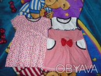 Платья в нормальном состоянии,есть небольшие следы носки.Размер 80-86. Киев, Киевская область. фото 4