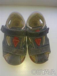 Продам сандалии 22 размер в очень хорошем состоянии.Есть супинатор, твердая пято. Киев, Киевская область. фото 2