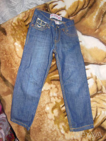 Продам новые катоновые джинсы для мальчика.Размер 104 на 4-5 лет.Джинсы привезен. Киев, Киевская область. фото 1