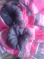 Зимний термо- комбинезон в хорошем состоянии для вашей принцессы.Размер 80, на 1. Киев, Киевская область. фото 11