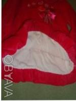 велюровое платье сост нового -рост 74см ,производитель Польша ,цвет -малиновое ,. Киев, Киевская область. фото 5