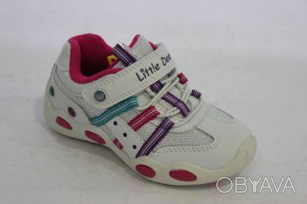 Шикарные белые кроссовки от Тм B&G (Little Deer). Очень красивые!!! Белые с розо. Суми, Сумська область. фото 1