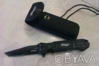 Продам складной нож Walther Black Tac Tanto. Киев. фото 1
