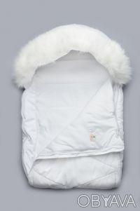 Зимний детский конверт для новорожденного на утеплителе PolyTex с искусственной . Дніпро, Дніпропетровська область. фото 3