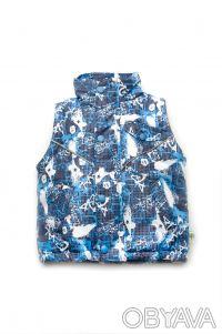 Куртка-жилет 2 в 1 для мальчиков от 1,5 года до 4 лет(рост 86 - 104 см).     . Днепр, Днепропетровская область. фото 3