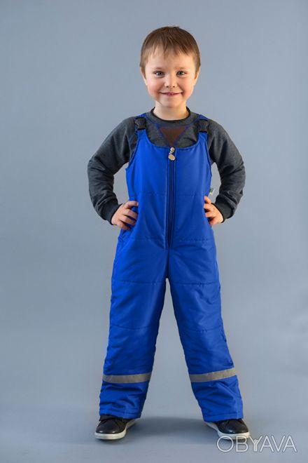 Детский демисезонный полукомбинезон для мальчиков от 1,5 до 4 лет.  Демисезонны. Дніпро, Дніпропетровська область. фото 1