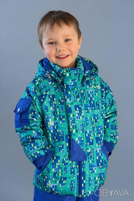 Демисезонная курточка для мальчиков 1.5 - 4 лет.  Курточка  выполнена из высоко. Дніпро, Дніпропетровська область. фото 1