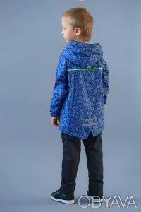 Ветровка на хлопковой подкладке в морском стиле для мальчиков 2-6 лет. Выполнен. Днепр, Днепропетровская область. фото 4