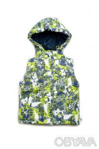Куртка-жилет 2 в 1 для мальчиков от 1,5 года до 4 лет(рост 86 - 104 см).      . Дніпро, Дніпропетровська область. фото 3