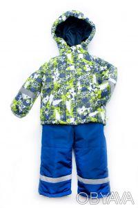 Куртка-жилет 2 в 1 для мальчиков от 1,5 года до 4 лет(рост 86 - 104 см).      . Дніпро, Дніпропетровська область. фото 5