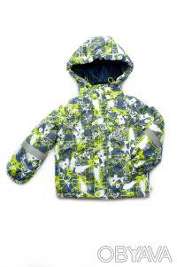 Куртка-жилет для мальчика (green). Днепр. фото 1