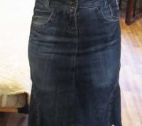 Продам джинсовую юбку б/у. Днепр. фото 1