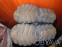 Демисезонные ботинки 21 размер.Ботинки кожаные, супинатор, твердая пяточка.Носил. Киев, Киевская область. фото 6