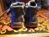 Демисезонные ботинки Tom.m кожа.Есть небольшие потертости, замок на левом туго з. Киев, Киевская область. фото 5