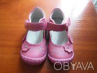 Продам туфли для вашей принцессы.Длина стельки 13 см ,есть супинатор, пяточка тв. Киев, Киевская область. фото 3