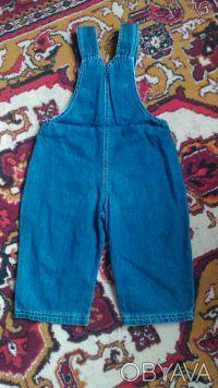 Комбинезон для мальчика в хорошем состоянии,джинс легкий.Размер 80-86, на 1-2 го. Киев, Киевская область. фото 5