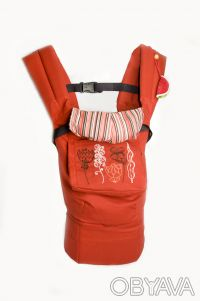 Эрго-рюкзак детская переноска (терракот-красный). Днепр. фото 1