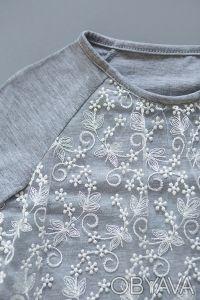 Нарядный реглан для девочек. Отлично подходит к любым брюкам и юбкам. Реглан из . Днепр, Днепропетровская область. фото 5