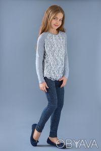 Нарядный реглан для девочек. Отлично подходит к любым брюкам и юбкам. Реглан из . Днепр, Днепропетровская область. фото 3