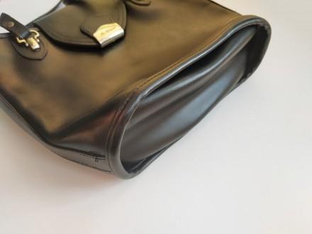 Итальянская винтажная сумка la toscana на змейке из качественной толстой кожи с . Бровары, Киевская область. фото 5