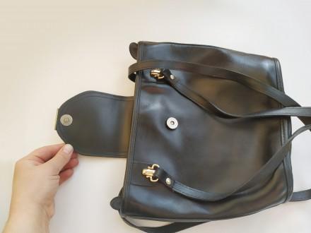 Итальянская винтажная сумка la toscana на змейке из качественной толстой кожи с . Бровары, Киевская область. фото 8