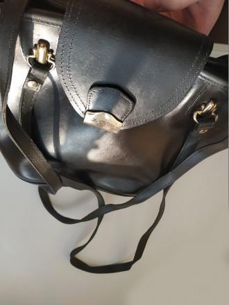 Итальянская винтажная сумка la toscana на змейке из качественной толстой кожи с . Бровары, Киевская область. фото 12