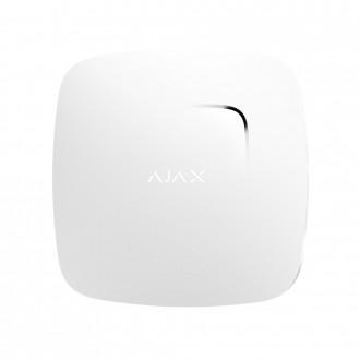 Беспроводной датчик детектирования дыма Ajax FireProtect белый. Днепр. фото 1