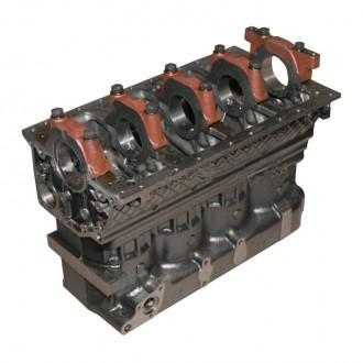 Блок цилиндров двигателя Д-245 ММЗ (245-1002001-05). Мелитополь. фото 1