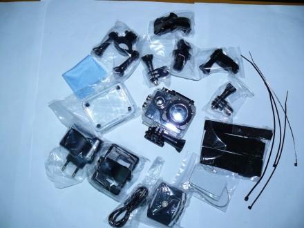 Видеокамера, экшен камера CS5000H с WiFi, видео разрешение: 1080P с 30fps, фото . Мариуполь, Донецкая область. фото 8