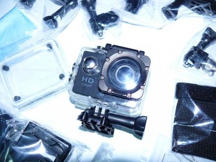 Видеокамера, экшен камера CS5000H с WiFi, видео разрешение: 1080P с 30fps, фото . Мариуполь, Донецкая область. фото 6
