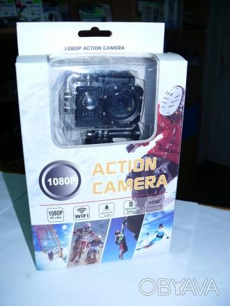 Видеокамера, экшен камера CS5000H с WiFi, видео разрешение: 1080P с 30fps, фото . Мариуполь, Донецкая область. фото 1