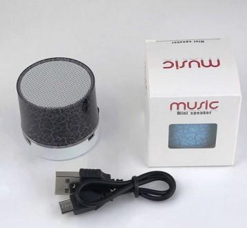 Портативная беспроводная Bluetooth колонка MINI LED. Черкассы. фото 1
