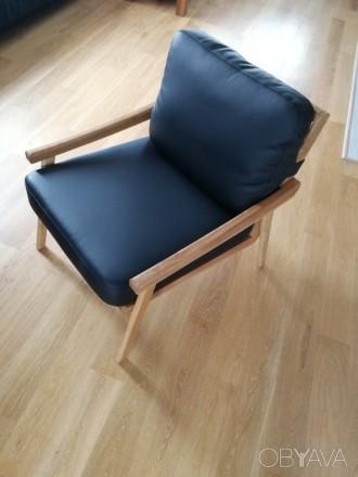 Комфортные кресла для дома и офиса, основа - дуб. Киев. фото 1