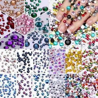 Стразы ss16, ss20, ss30, ss40 множество цветов Crystal Elements Superior!. Харьков. фото 1