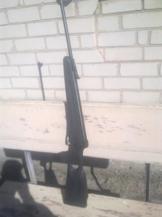 Пневматическая винтовка Чайка-12 с газовым поршнем настрел 300 пуль. Запорожье. фото 1