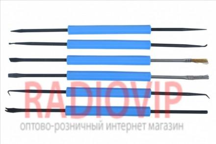 Набор инструментов для пайки ZD-151 6штук. Киев. фото 1