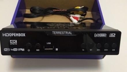 Тюнер цифровой Т2 DVB HD Openbox T777. Киев. фото 1