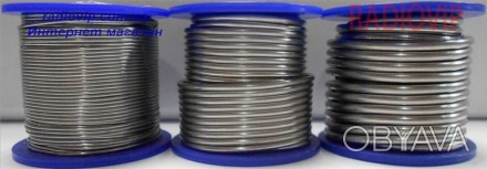 Припой Cynel ПОС-60 Sn-60% Pb-40% 2,5мм 0,250кг Cynel