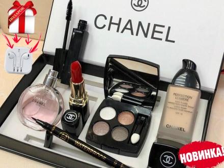 Женский подарочный набор Chanel 6 в 1 Новинка! ORIGINAL. Киев. фото 1