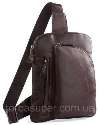 Рюкзак Vintage 14186 кожаный Коричневый, Коричневый. Днепр. фото 1