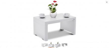 """"""" Садовый Стол Lago Lounge Side Table Allibert, Keter, Curver """"  Комфорт и удо. Ужгород, Закарпатская область. фото 3"""